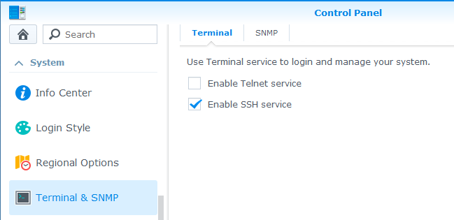 ipkg package manager installation on Synology NAS - ReScene